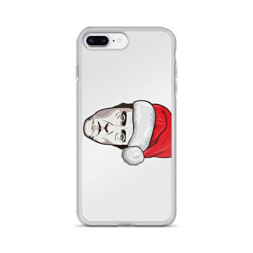 iPhone 7 Plus/iPhone 8 Plus Case Clear Anti-Scratch Christopher Walken - Christmas T-Shirt, Christmas Cover Phone Cases for iPhone 7 Plus iPhone 8 Plus for $<!--$19.98-->
