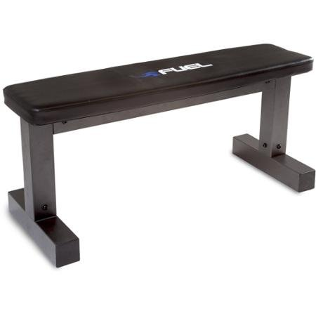 Fuel Pureformance Steel Construction Sleek Design, Ideal for a Wide Range of Exercises Including Chest, Leg and Back, Durable, Ideal for Home Use, Strength & Weight Training Flat Bench by Fuel Pureformance