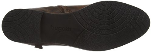 Brown Schwarz Bugatti Braun 601 Ankle Women's Boots V51351 qO6gwI