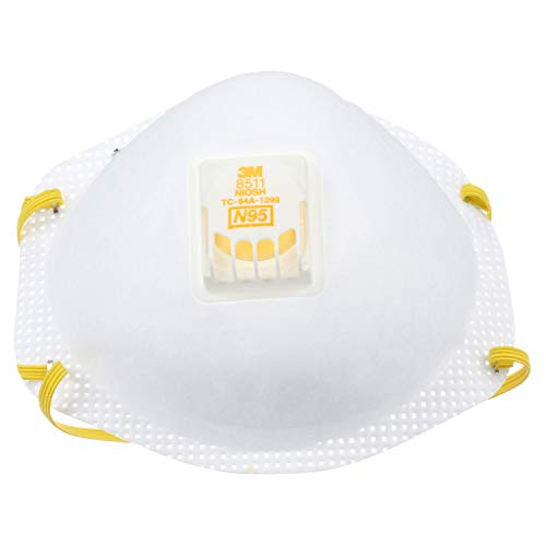 3M Particulate Respirator 8511, N95 (Pack of 80) for sale  Delivered anywhere in USA