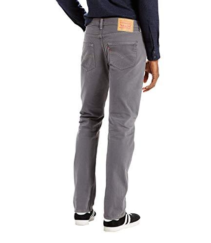 Charcoal Dark Dye 501 Original Garment Levi's FitJeans Uomo DH9bW2IYeE