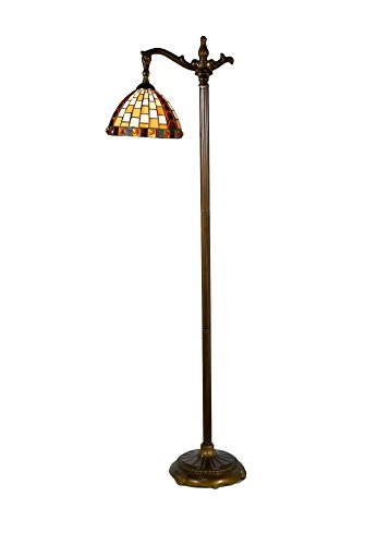 - Springdale by Dale Tiffany STF17114 Graham Directional Down Bridge Tiffany Floor Lamp