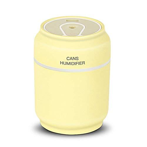 XHH Difusor de aromaterapia portátil, humidificador de Aire de Coche de 200ML Aceite Esencial 3 en 1 Spray con Ventilador...