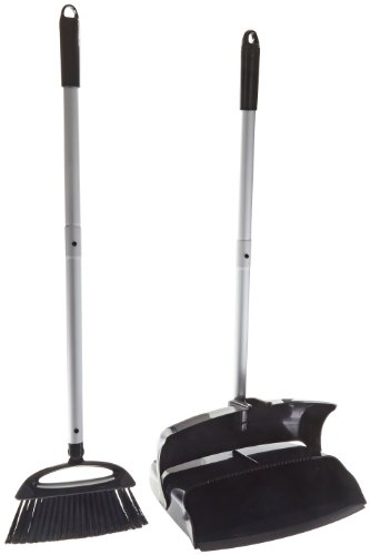 Carlisle 36141603 Dustpan Combo, Length Black