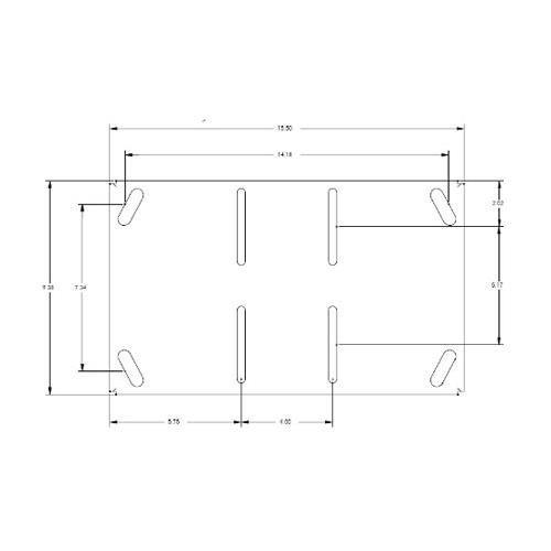 Chief Manufacturing Low Profile Flush Mounting Kit LPK-1