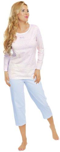 Italian Fashion IF Pijamas para Mujer Dalia 0111 Azul
