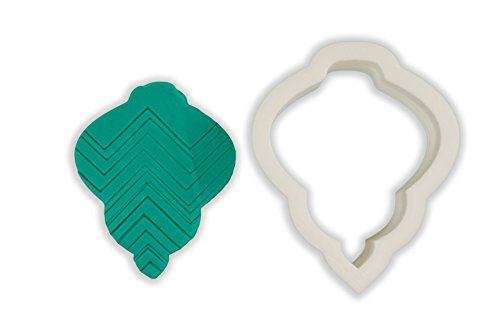 Long Christmas Ornament Cookie Cutter - LARGE - 4 Inches - Ornament Cookie Cutter