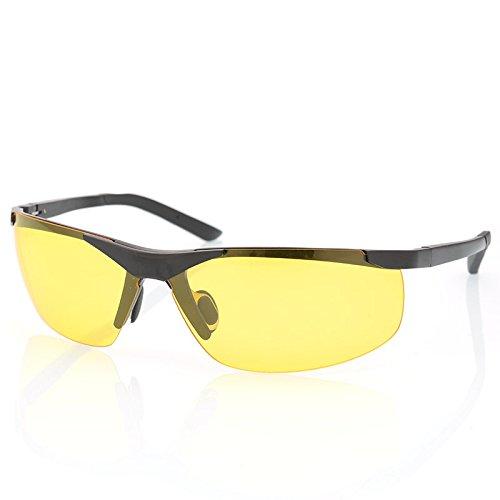hombres de de nero de visión Il plata visión gafas noche gafas de nocturna polarizadas polarizadas sol Lentes conducción para deslumbramiento nuevas TIANLIANG04 anti nocturna gafas sol R04qvUU