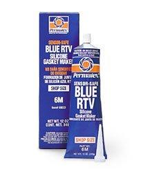 - Permatex 80023#6 Sensor Safe Blue RTV Silicone Gasket Maker, 12 oz. Boxed