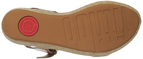 FitFlop Women's Bon II Back-Strap Sandals Medical Professional Shoe, Caramel, 9 M US by FitFlop (Image #3)