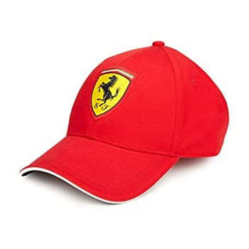 Amazon.com  Ferrari Red One Size Classic Cap  Automotive 71f696dc889