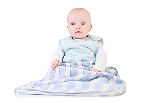 Merino Kids Winter Sherpa-Weight Baby Sleep Bag for Babies 0-2 Years, Forget-Me-Not