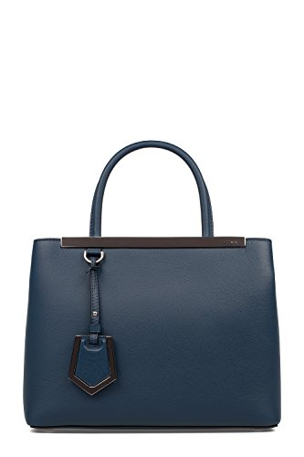 Fendi Blue Handbag (Fendi Women's 8Bh2533wlf07hq Blue Leather Handbag)