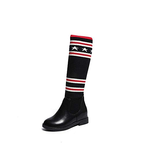 Shoes Ladies Eu nero Canister 39 Socks Eu A 39 'boots Long Studenti Stretch Deed Boots qUY15w
