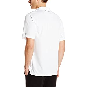 Champion Men's Ultimate Double Dry Performance Polo Cleaning Shirt - back