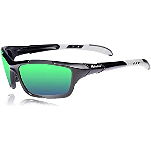 HULISLEM S1 Sport Polarized Sunglasses