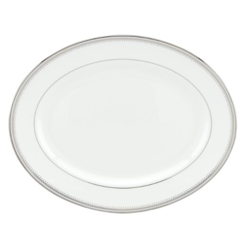 Lenox Belle Haven Oval Platter (Fine Dinnerware Oval Platter)