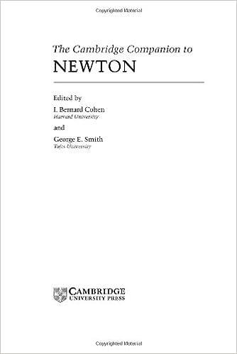 the cambridge companion to newton cohen i bernard smith george e