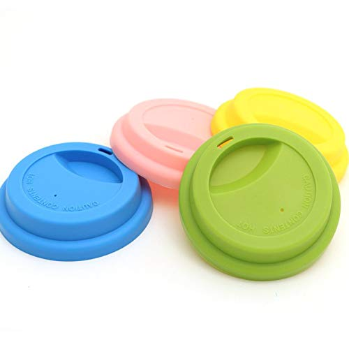 Set of Mixed Four Silicone Travel Lids