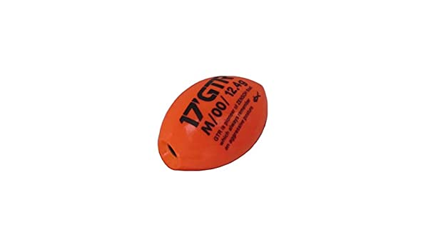 Kizakura 17/'GTR Zensoh ISO Fishing Float Orange Color