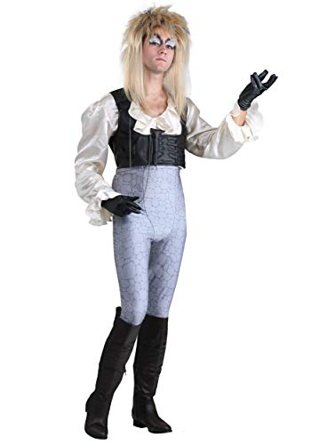 Labyrinth Jareth Adult Costume Medium Silver