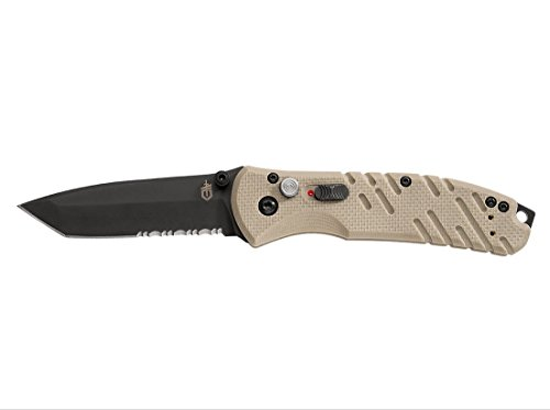 - Gerber Propel Downrange Assisted Opening Knife Desert Tan