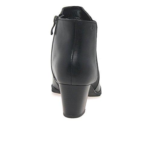 Caprice Teddy Womens High Heel Chelsea Boots Negro