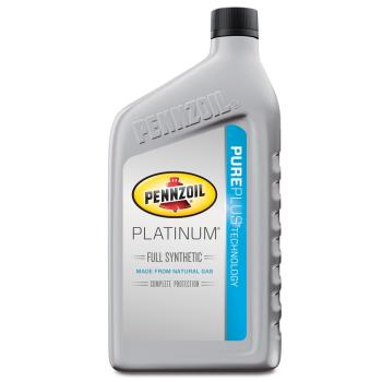 Pennzoil 550022686 platinum full synthetic 5w for How often to change full synthetic motor oil