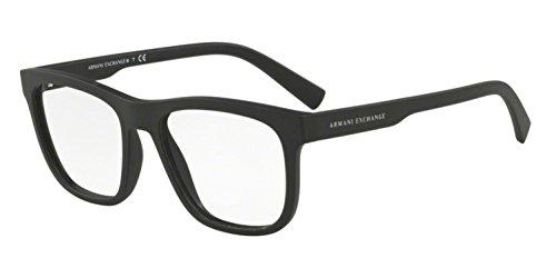 Eyeglasses Exchange Armani AX 3050 F 8078 MATTE BLACK
