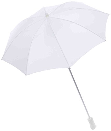 Forum Novelties Women's Novelty Parasol, White, One Size -