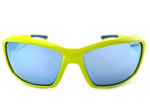 Sunwise Summit Bleu Miroir Lunettes de soleil de sport pour homme YOT3j9GZh7