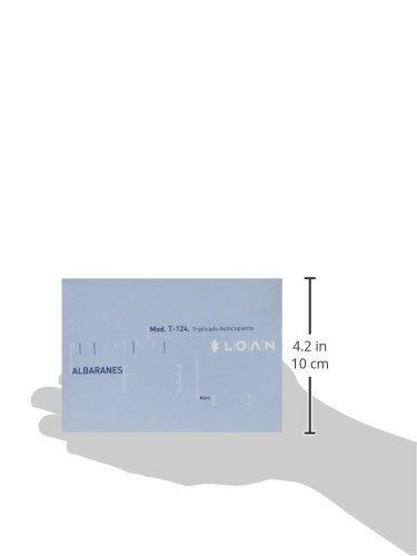 Loan T124 Talonario 5 unidades