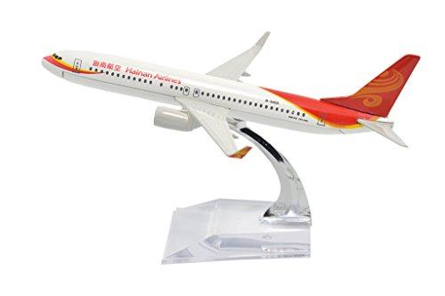 TANG DYNASTY 1/400 16cm 中国海南航空 China Hainan Airlines ボーイング B737 高品質合金飛行機プレーン模型 おもちゃ