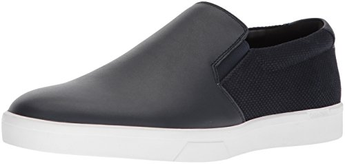 Calvin Klein Men's Ivo Loafer, Dark Navy, 10.5 Medium US by Calvin Klein