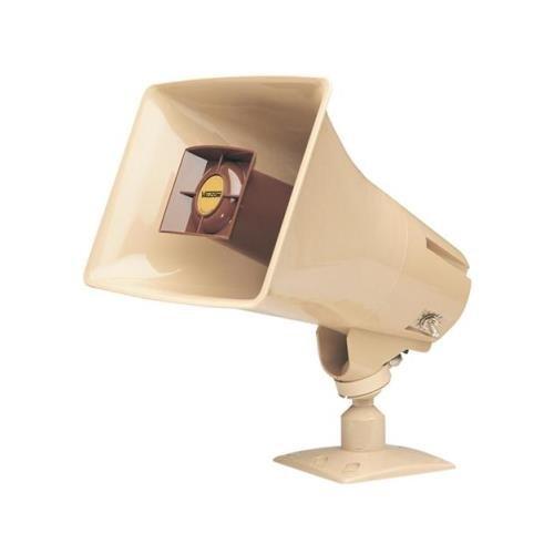 (VALCOM VC-V-1030C 5Watt 1Way Paging Horn BEIGE White Box)