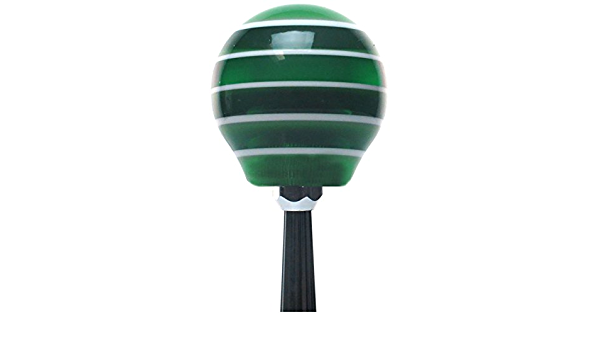 ASCSNX1590283 Green Virgo Ivory with M16 x 1.5 Insert American Shifter 269251 Shift Knob