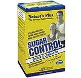Natures Plus Sugar Control Sugar Cravers Formula - 60 Vegetarian Capsules - Amino Acid, Mineral & Herb Supplement, Cuts Sugar Cravings - Gluten Free - 60 Servings