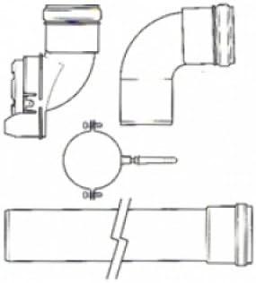 Viessmann 7373238 - Kit de gestión de ciruelas, color blanco y negro