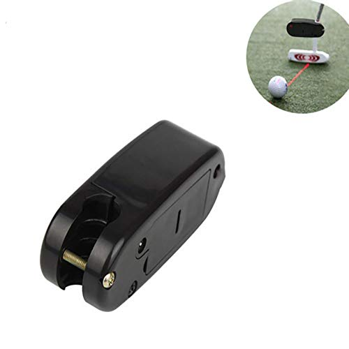 YJSBIZ Golf Putter Laser Sight Training Aid Practice Aim Line Corrector Pointer Trainer Guide