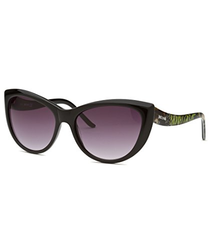Just Cavalli Women's Cat Eye Black Sunglasses
