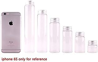 3da907d2c1a8 Amazon.com: 50 Ml Glass Jar - 15pcs Dia 37mm 20ml/50ml/70ml/90ml ...