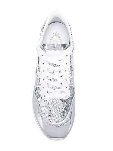 Donna Pelle Tod's Argento Xxw0yo0p260fxd0906 Sneakers 4PqOOw5Y
