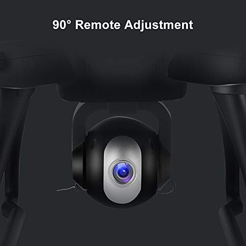 LH-X38G 2.4GHz Dual GPS Wifi FPV 1080P 4CH RC Drone, Air Pressure Setting Aerial Photography Automatic Follow Real-time Transmission Pointing Headless Modes(Above 14 Age),With Backpack (Blue) by Sonmer (Image #8)