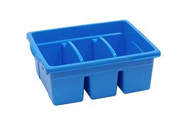 Royal Divided Tub Color: Blue