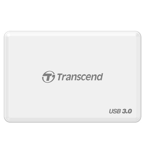 Transcend USB 3.0 Super Speed Multi-Card Reader for SD/SDHC/SDXC/MS/CF Cards (TS-RDF8W) by Transcend