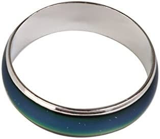 セール 2点 合金製 リング 指輪 温度によって変色 贈り物 クリスタル カラーチェンジ ムードリング サイズ11