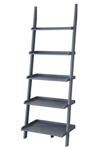 American Heritage Bookshelf Ladder, Gray (Heritage Home Office)
