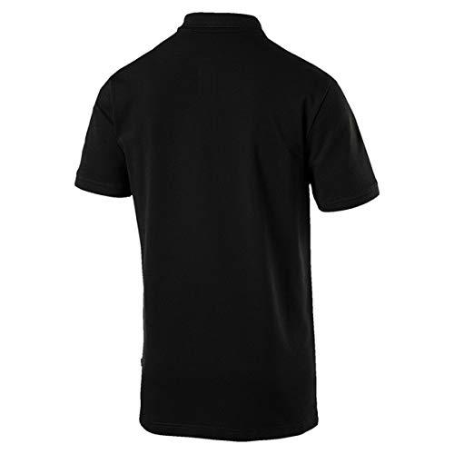 Puma Black Ess Pique Cotton Polo Uomo XfXBqrSw