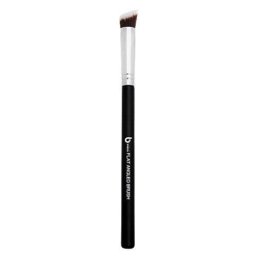 Contouring Brush: Flat Angle Makeup Brush Best for Precision Contouring & Brow Definition (Small, Synthetic) – Beauty (Angled Contour Brush)