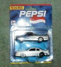 Golden Wheel 1995 Pepsi Race Car and Race Truck Set